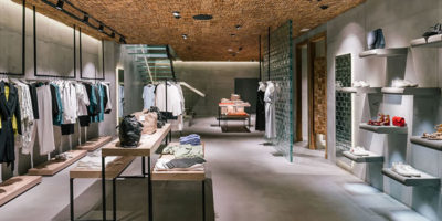 Destudio Arquitectura designed the Hence Flagship Store in Madrid.