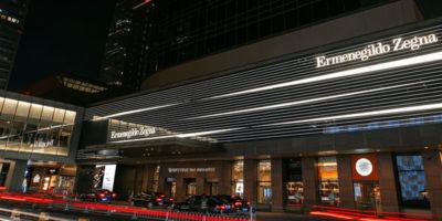 ERMENEGILDO ZEGNA apre un nuovo Global Store a Pechino.