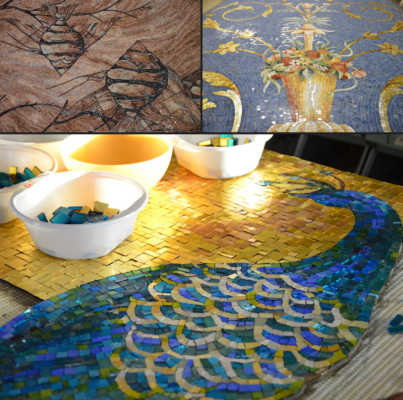 Friul Mosaic design contemporaneo