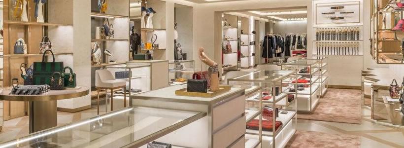 Nuova boutique DIOR a Venezia.