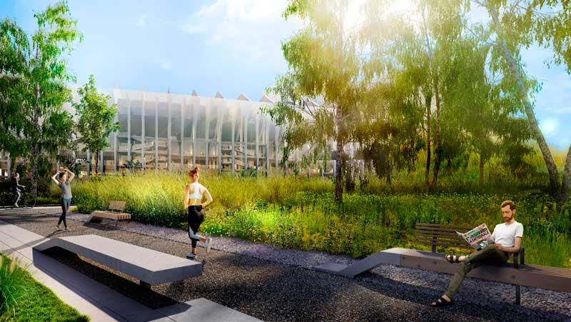 Populous progetto La Cattedrale per nuovo stadio Milano