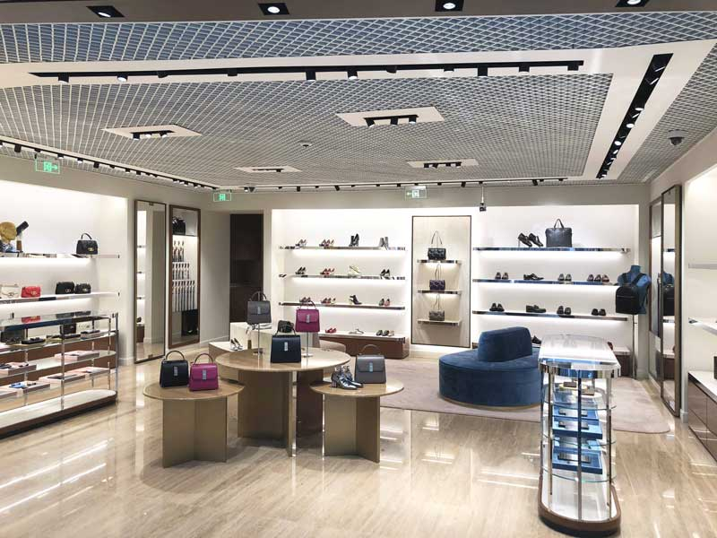 Salvatore Ferragamo new store in Beijing's new Daxing International Airport