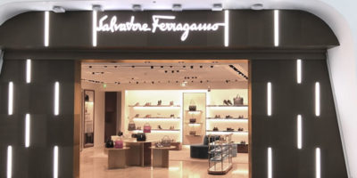 SALVATORE FERRAGAMO unveils its new store at Beijing Daxing International Airport.