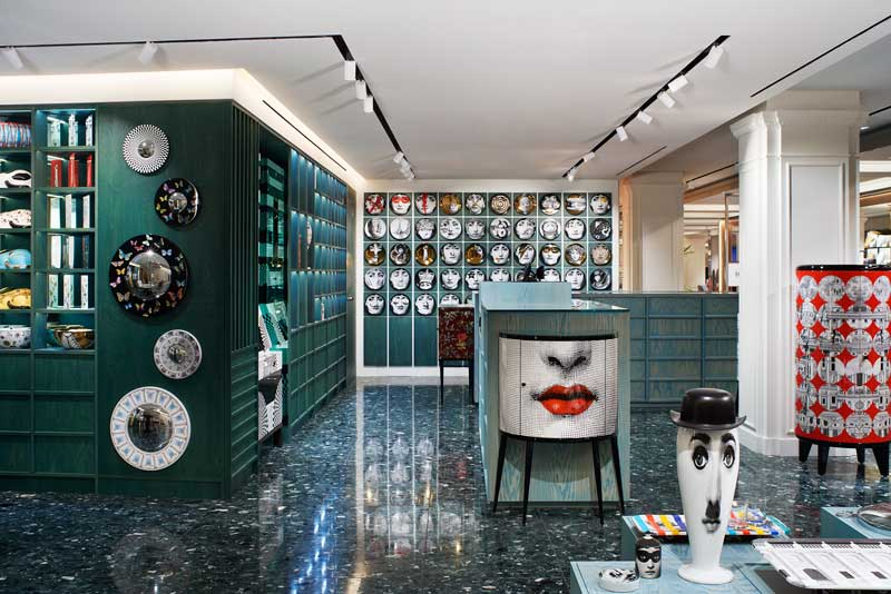 Fornasetti boutique at Harrods