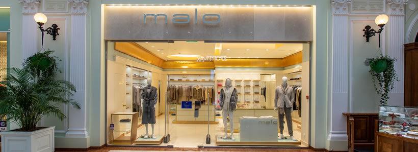 MALO: una boutique al Petrovsky Passage di Mosca.