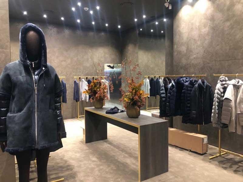 boutique MooRER Via Montenapoleone Milano