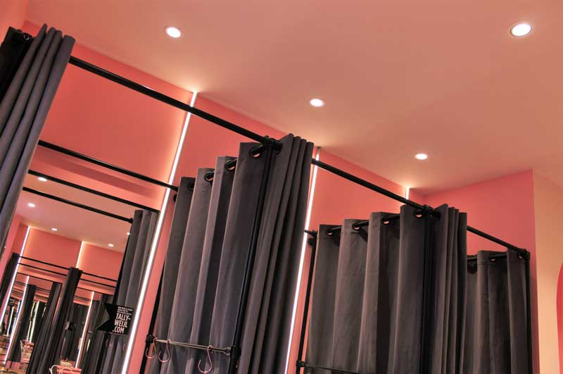 Signify has created the lighting redesign of the store Tally Weijl