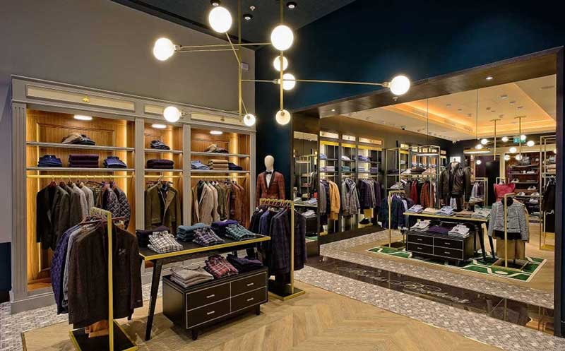 Brooks Brothers Westfield Shopping Center di Londra