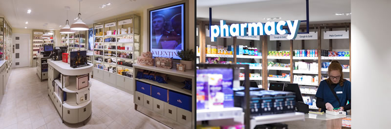 brand CH communications and store concept