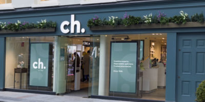 CH unveils new branding and store concept.