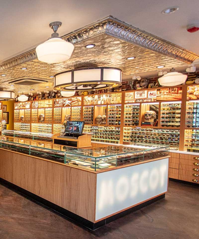 negozio Moscot Milano Italia