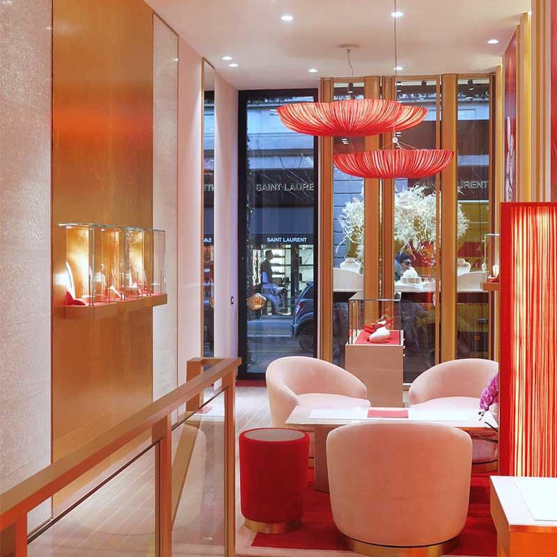 Pasquale Bruni flagship store Milano