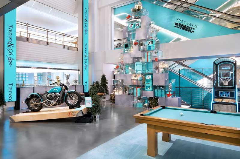 Tiffany's pop-up-store