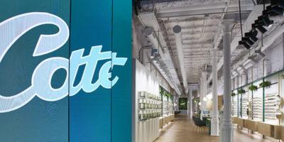 Progetto di interior design OTTICA COTTET Barcellona.