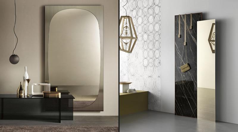 TONELLI DESIGN Gold Mirrors.