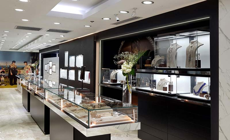 Arquitect Contract store Jewels