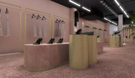 THINK PINK Luxury Showroom Concept, Milano.