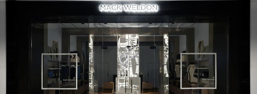 Frederick Tang Architecture Designs Mack Weldon's Hudson Yards Retail Store.