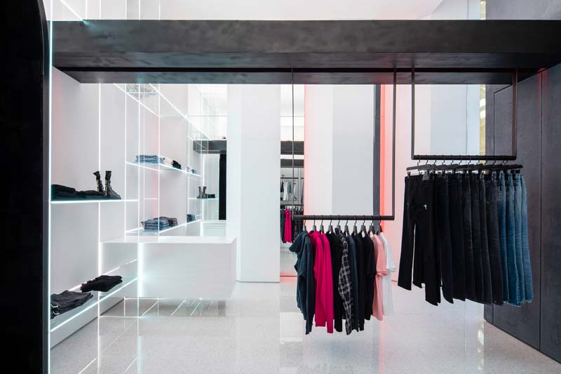 Dan Brunn Architecture progetto RtA boutique