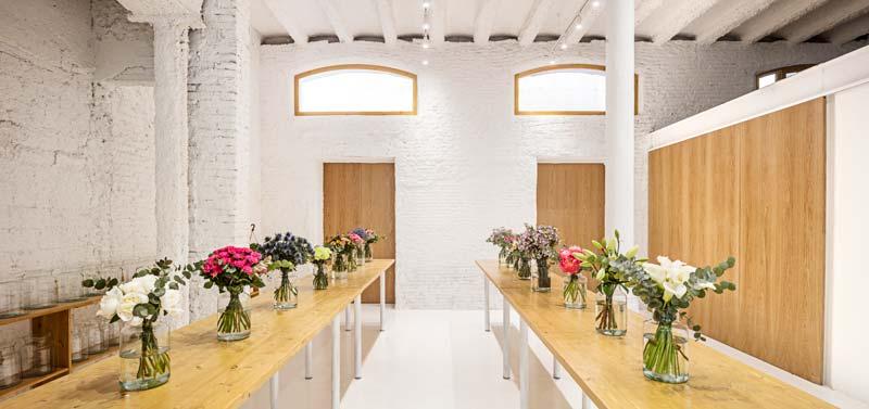 Roman Izquierdo Bouldstridge progetto negozio fiorista Colvin