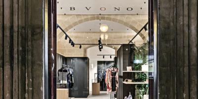 Progetto showroom BVONO JAY, Matera.