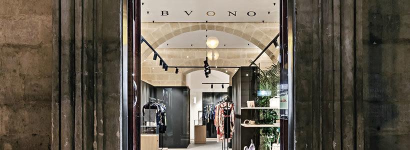 Alessandro Fontana Studio designed the Bvono Jay showroom in Matera, Italy.