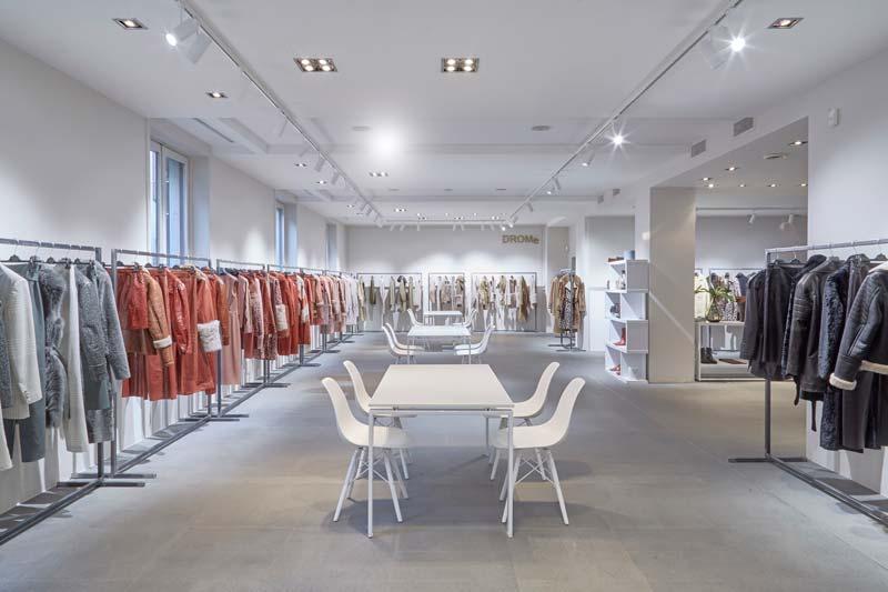 showroom Drome di Milano