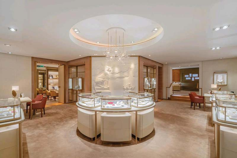 Cartier redesigning its stores