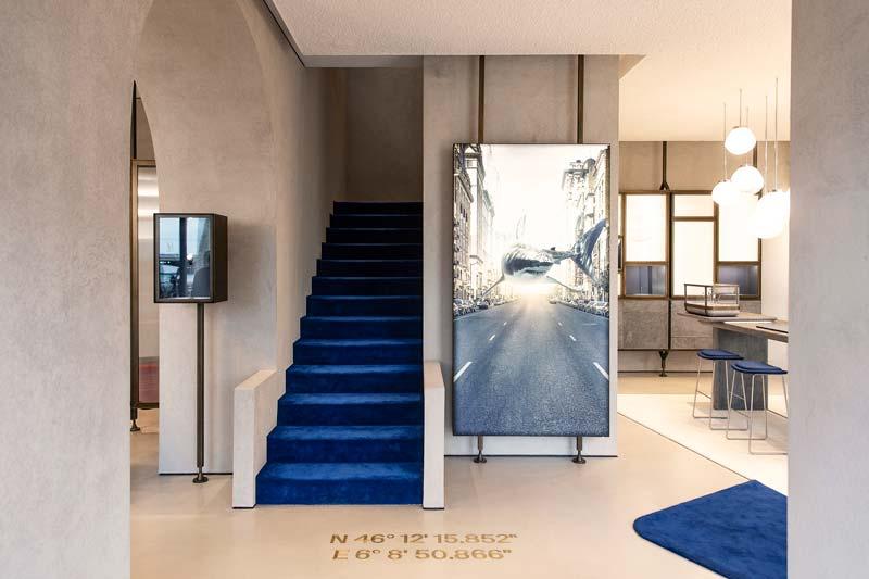 BF RETAIL DESIGN & ARCHITECTURE concept Ulysse Nardin