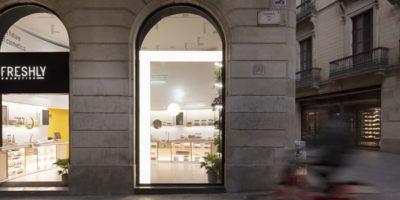 FRESHLY COSMETICS apre il suo primo monomarca a Barcellona.