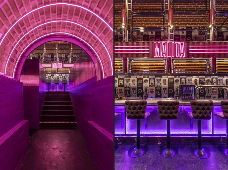 Hitzig Militello Arquitectos designed the MALITA bar
