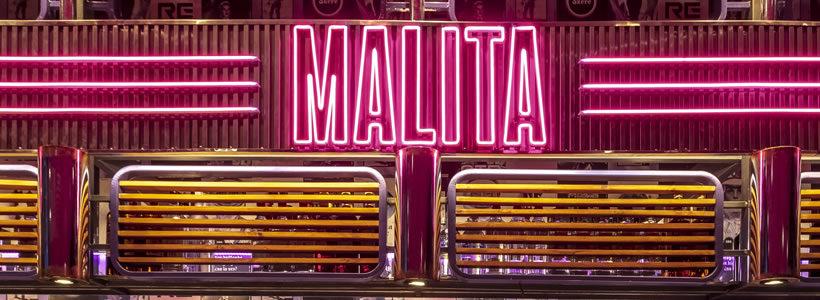 Hitzig Militello Arquitectos designed the MALITA Bar in Buenos Aires.