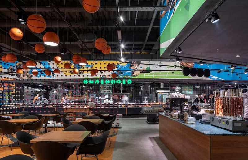 IMOON illuminotecnica per il settore del Food & Fashion Retail