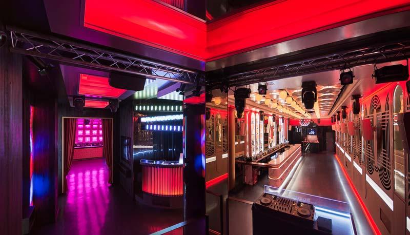 interior design the Pastrami Club Malaga
