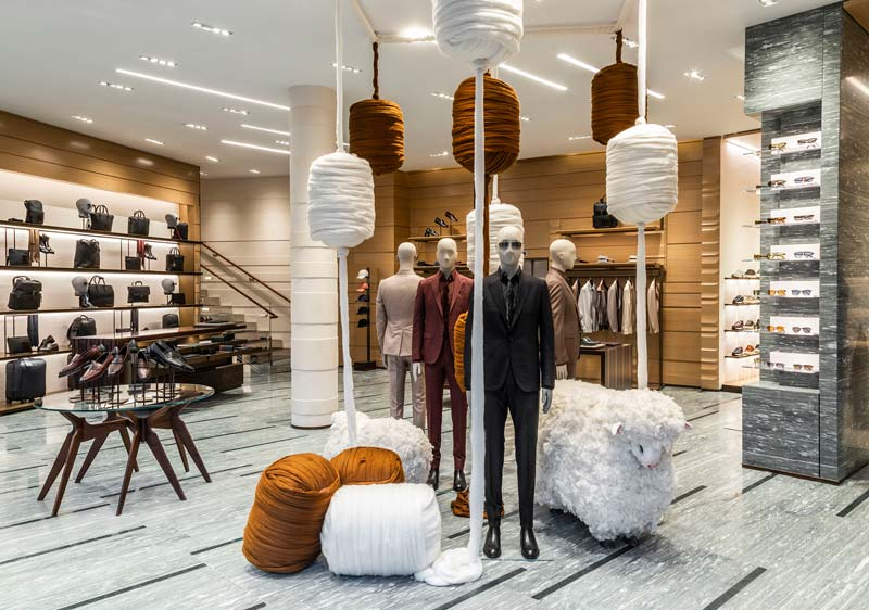 Il nuovo flagship store Ermenegildo Zegna di Parigi