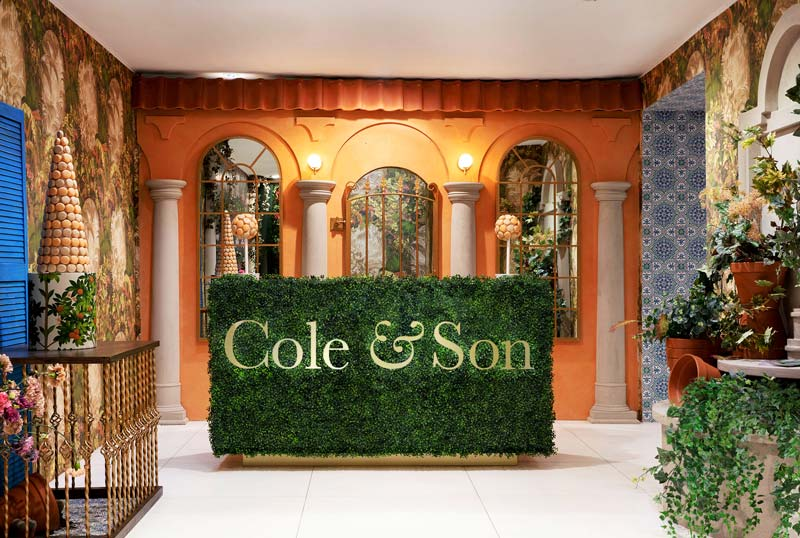 wallpaper Cole & Son - Paris showroom