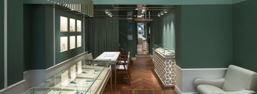 FOPE Flagship Store, London.
