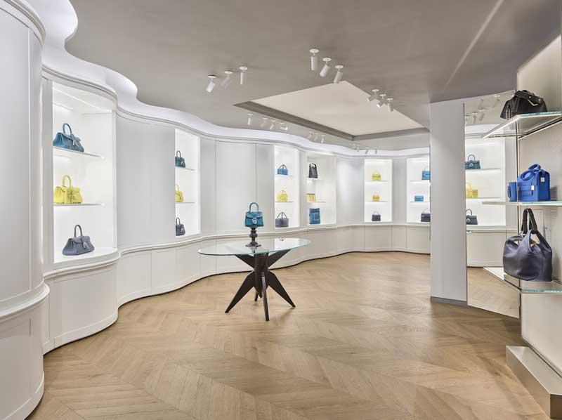 Vudafieri-Saverino Partners - Delvaux flagship store New York