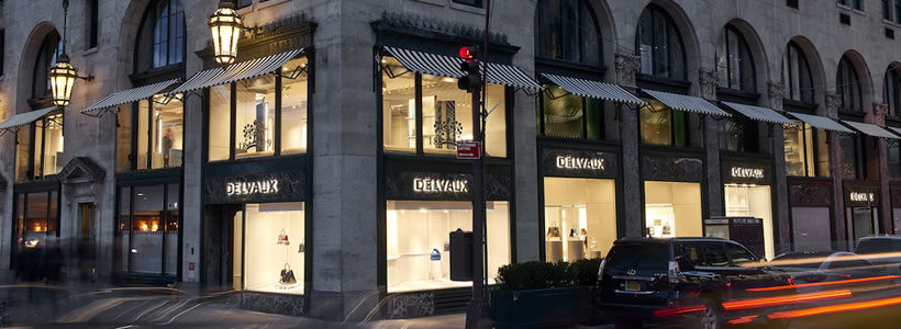 DELVAUX lands in the United States.