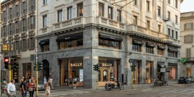 Flagship Store BALLY Milano.