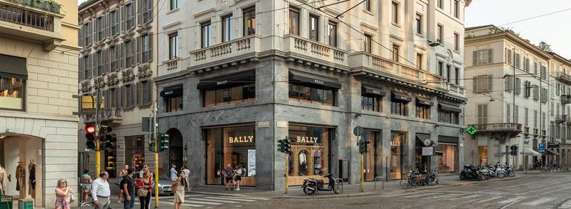 BALLY FLAGSHIP STORE Milan.