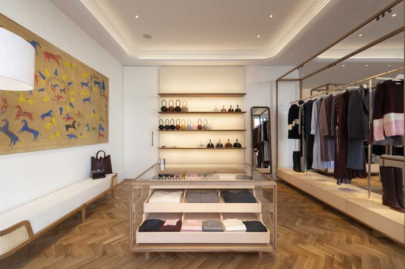 Foster + Partners designed the Gabriela Hearst flagship in London