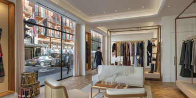 Gabriela Hearst London flagship.