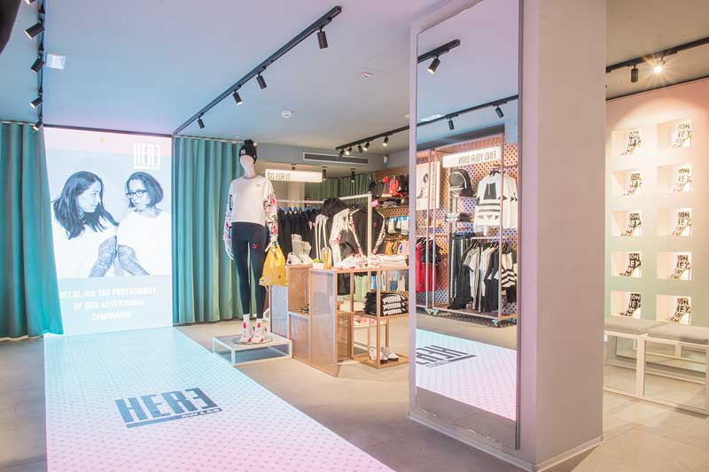 HERE the innovating concept store