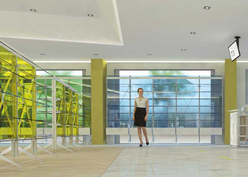 Icas furnishing systems for the retail sector
