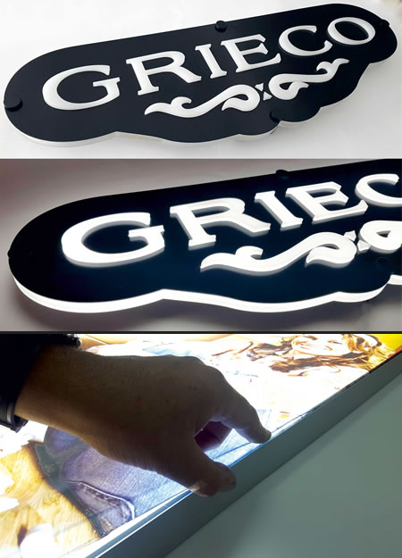 SIGN ITALIA Neon light lettering signs and luminous