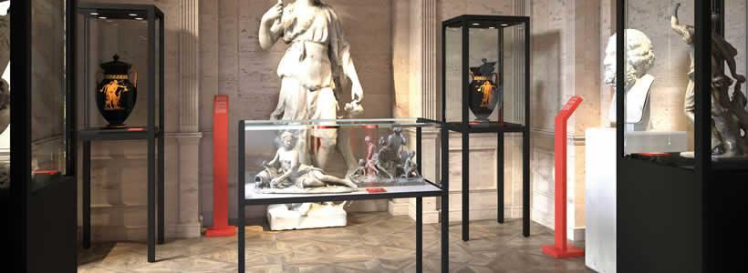 Italvetrine presents MUSEUM.