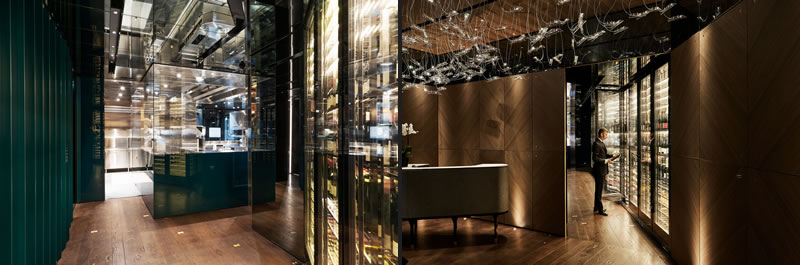 In Milan, Maurizio Lai designs a restaurant  IYO Aalto