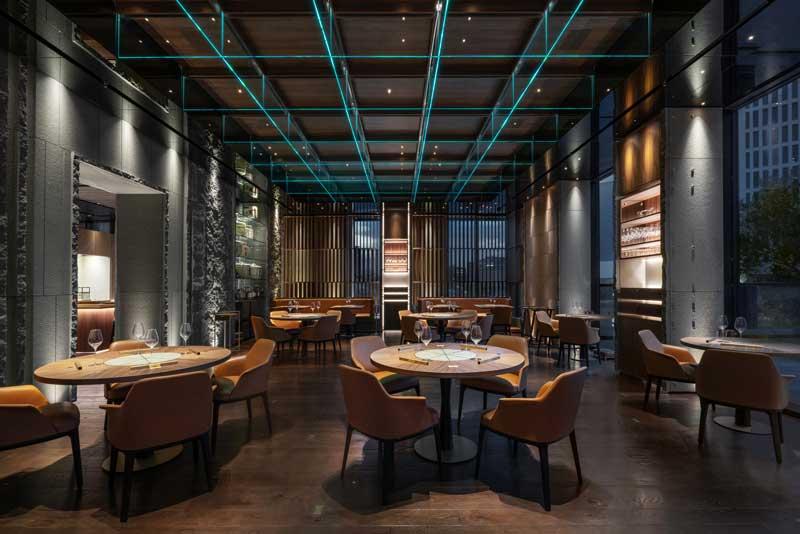 Maurizio Lai progetto ristorante IYO Aalto