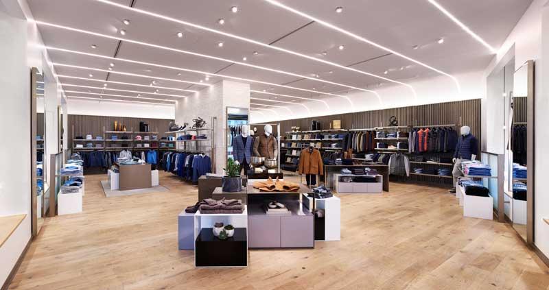 Jeffrey Hutchison & Associates design the Peter Millar Store